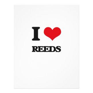 I Love Reeds Flyer