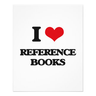 I Love Reference Books Flyer