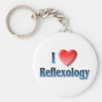 I Love Reflexology Key Chain