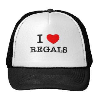 I Love Regals Trucker Hat