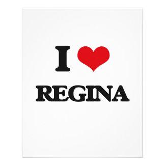 "I Love Regina 4.5"" X 5.6"" Flyer"
