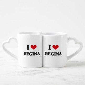 I Love Regina Couples Mug