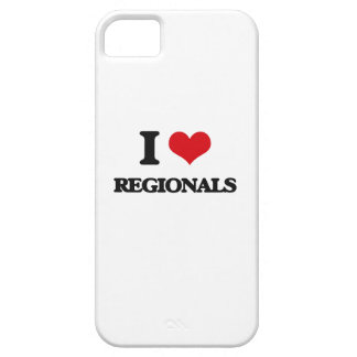I Love Regionals iPhone 5 Case