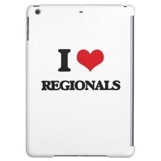 I Love Regionals iPad Air Cases