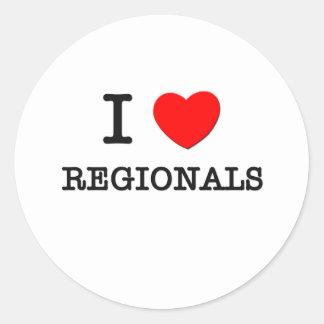 I Love Regionals Sticker