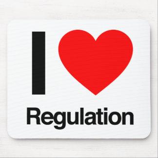 i love regulation mousepad