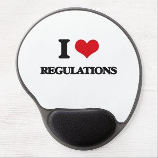 I Love Regulations Gel Mousepads