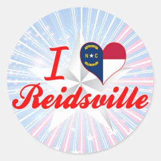 I Love Reidsville, North Carolina Sticker
