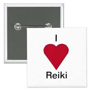 I love Reiki button