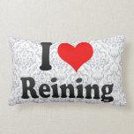 I love Reining Throw Pillows