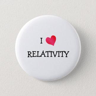 I Love Relativity 6 Cm Round Badge