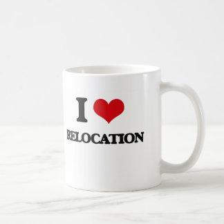 I Love Relocation Basic White Mug