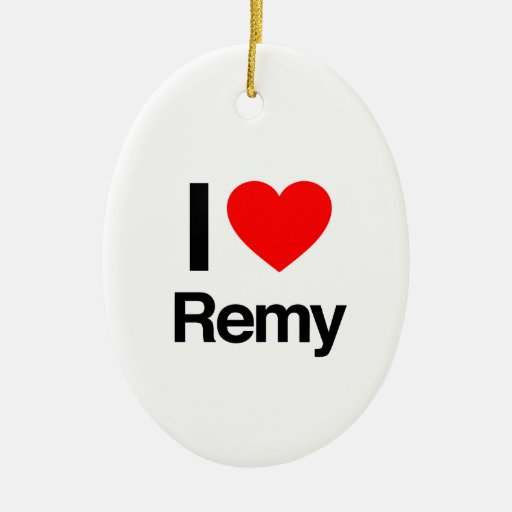 i love remy christmas ornaments