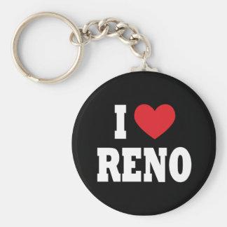 I Love Reno Keychain