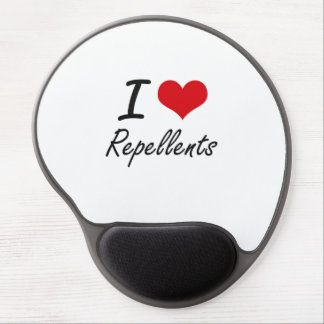 I Love Repellents Gel Mouse Pad
