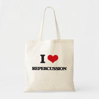 I Love Repercussion Canvas Bags