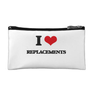 I Love Replacements Cosmetic Bags