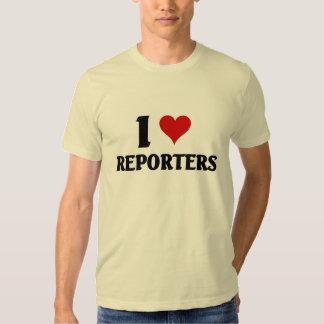 I love Reporters Shirts