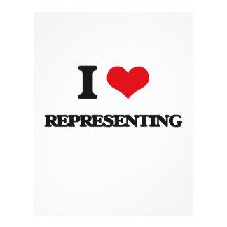 I Love Representing Flyer
