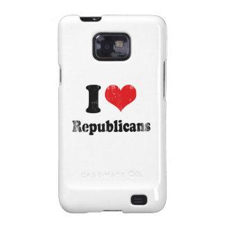 I LOVE REPUBLICANS Faded.png Galaxy S2 Cases