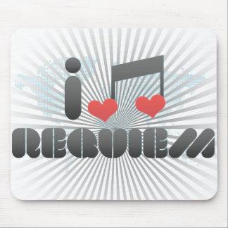 I Love Requiem Mousepad
