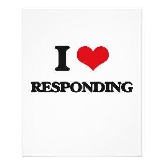I Love Responding Flyer