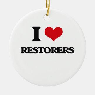I love Restorers Christmas Ornaments