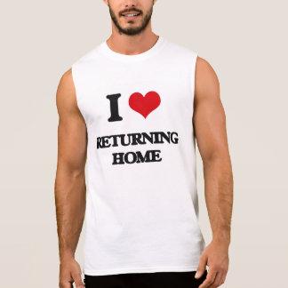 I Love Returning Home Sleeveless T-shirt