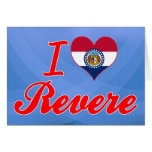 I Love Revere, Missouri Greeting Cards