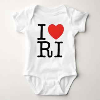 I LOVE RHODE ISLAND 2 BABY BODYSUIT