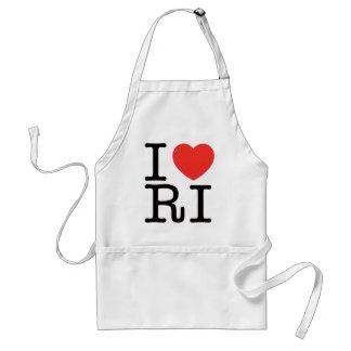I LOVE RHODE ISLAND 2 STANDARD APRON