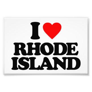 I LOVE RHODE ISLAND ART PHOTO