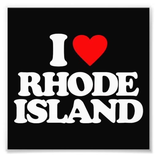 I LOVE RHODE ISLAND PHOTOGRAPH