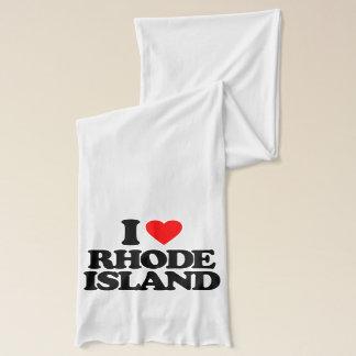 I LOVE RHODE ISLAND SCARF