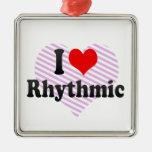 I love Rhythmic Christmas Ornaments