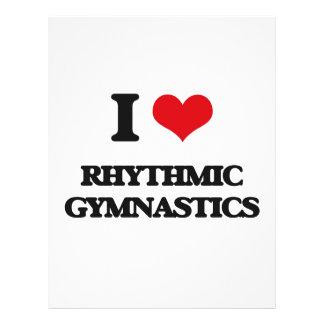 I Love Rhythmic Gymnastics Full Color Flyer
