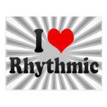 I love Rhythmic Postcard