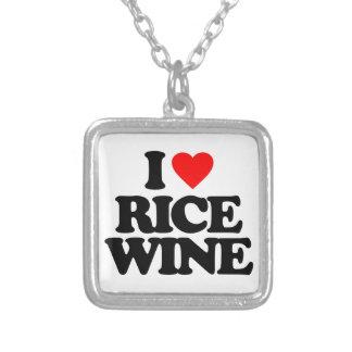 I LOVE RICE WINE PENDANT