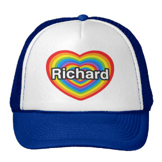 I love Richard. I love you Richard. Heart Trucker Hat