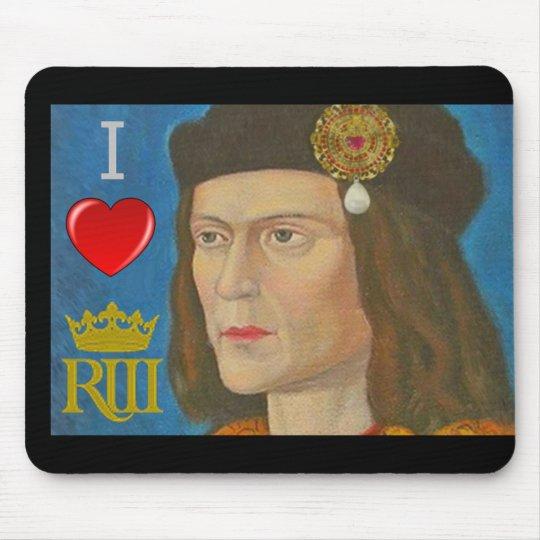 I love Richard III Mouse Mat