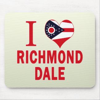 I love Richmond Dale, Ohio Mousepads