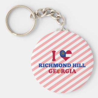 I Love Richmond Hill, Georgia Key Chain