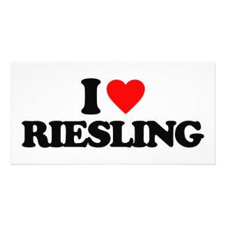 I LOVE RIESLING CUSTOM PHOTO CARD