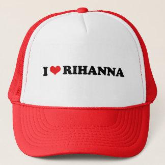 I LOVE RIHANNA / I HEART RIHANNA TRUCKER HAT