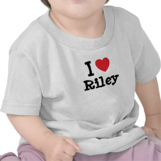 I love Riley heart custom personalized Shirts