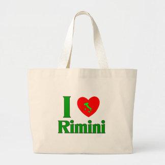 I Love Rimini Italy Jumbo Tote Bag