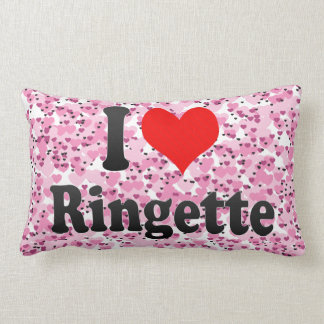 I love Ringette Lumbar Cushion