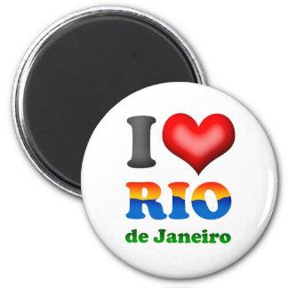 I Love Rio de Janeiro, Brazil The Wonderful City Magnet