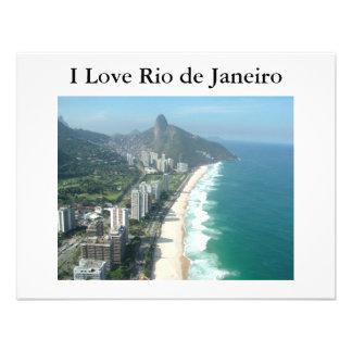 I Love Rio de Janeiro Invite
