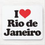 I Love Rio de Janeiro Mousemats